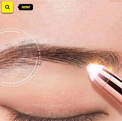 recortador eléctrico de cejas maquillaje indoloro ojo frente depiladora Mini