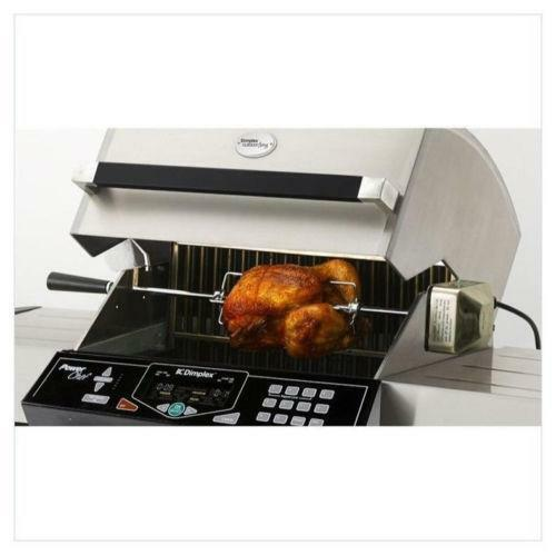 Grill Rotisserie Kit Outdoor Cooking Eating Ebay