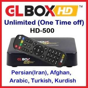 "GL Box HD-500 : IPTV ""UNLIMITED"" Persian(Iran), Afghan, Arabic Mays Hill Parramatta Area Preview"