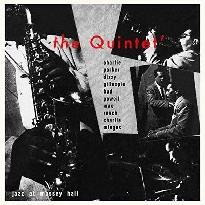 Charlie Parker   Jazz At Massey Hall  New Vinyl Lp  Ltd Ed  180 Gram  Rmst  Spai