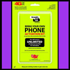 Straight Talk LTE Verizon Cell Phone SIM Cards
