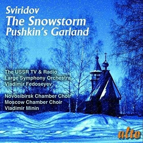 Vladimir Fedoseyev / - Sviridov: The Snowstorm - Pushkin's Garland [New CD]