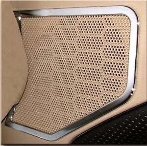 2005 2009 mustang chrome billet upper door panel speaker for 05 mustang door panel removal