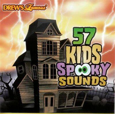New: 57 KIDS SPOOKY SOUNDS [Halloween Sound Effects] [Drews Famous]