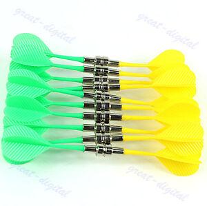 Bullseye-Target-Game-Plastic-Magnetic-Flat-Tips-Darts-Double-Sided-Safe-Dart