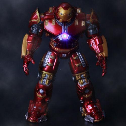 Marvel Avengers Age of Ultron LED Iron Man HULKBUSTER Action
