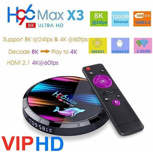 H96 Max X3 Android 9.0 TV Box 4GB 64GB