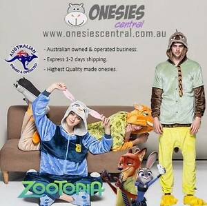 Zootopia Onesies Costume Judy Nick Flash Unisex Halloween Party Sydney City Inner Sydney Preview