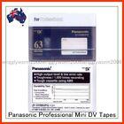 Panasonic DV: MiniDV HDV Camcorder Tapes & Discs