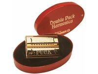 Hohner Double Sided Puck Harmonica -Brand New