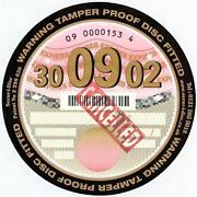 Tamper Proof Tax Disc Holder