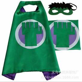 Hulk cape and mask