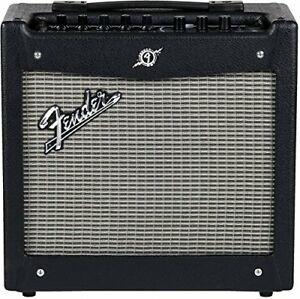 Fender Mustang 1 Guitar Amplifier and Fender Squier Guitar-new