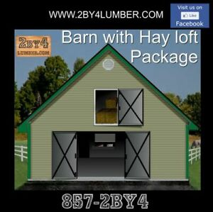Barn Package with hayloft m