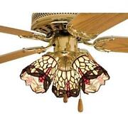Tiffany Ceiling Fan