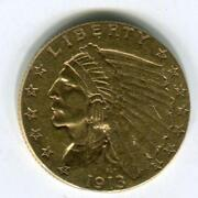 1913 Gold Quarter Eagle