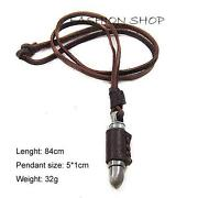 Mens Bullet Necklace