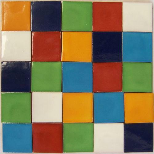 Mexican tile ebay Different design and colors of tiles