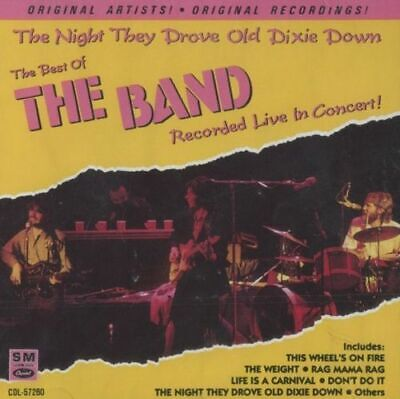 The Best Of The Band - The Night They Drove Old Dixie Down Cd Free Ship
