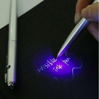 Best Plastic Material Invisible Ink Pen Novelty Ballpoint Pens Light