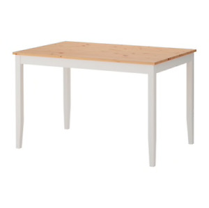 IKEA Lerhamn Dining Table Set for 4. (4 chairs)