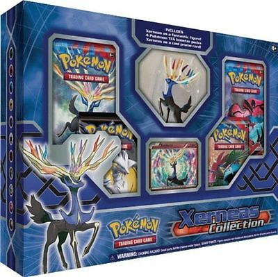 POKEMON TCG: Xerneas XY LEGENDS Collection Box Factory Sealed 4 Booster Packs
