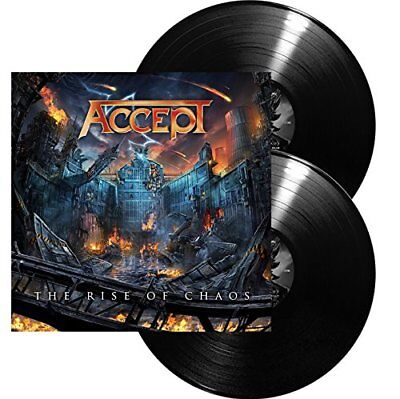"""Accept 'The Rise Of Chaos' 2x12"""" Vinyl - NEW"""