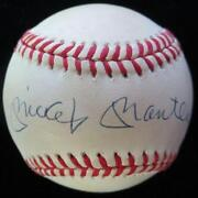 Mickey Mantle Signed UDA