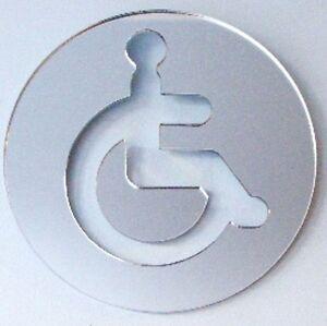 Redondo Se Al De Puerta De Aseo Para Discapacitados