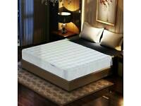 Memory Foam Mattress Pocket Sprung Reflex Zone Individual Pocket Springs - Single 90x190cm