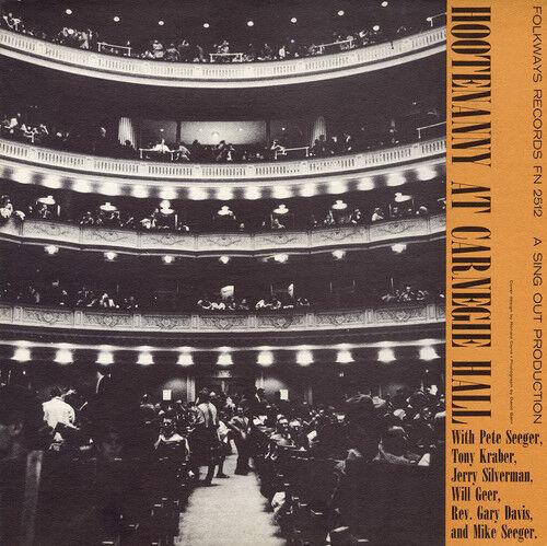 Pete Seeger - Hootenanny Carnegie Hall / Various [New CD]