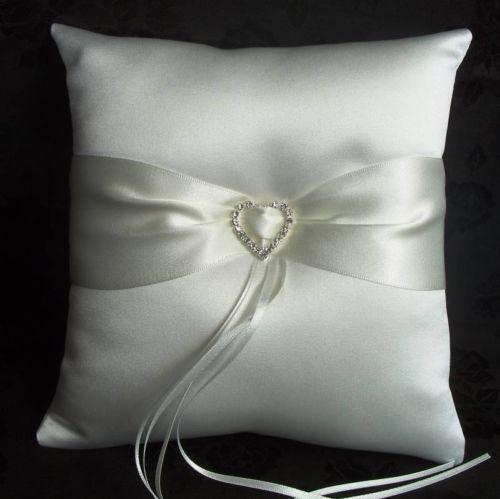 Ivory Ring Cushion