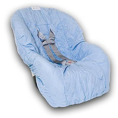 Nomie Baby Car Seat Cover - Light Blue - Toddler / Convertible- FREE SHIPPING