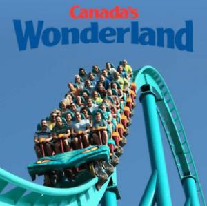 Canada's Wonderland tickets for sale!!