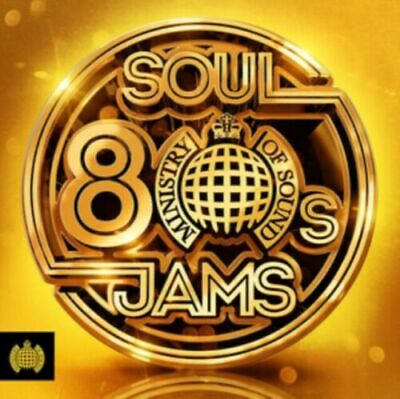 Ministry of Sound - 80s Soul Jams (Various Artists) [New & Sealed] 3CD