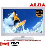 White TV DVD Combi