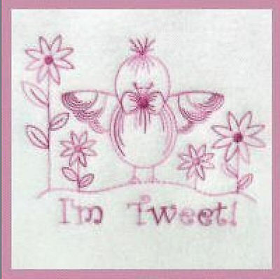 1115:   Machine Embroidery Designs - Especially For Baby VI - (Redwork Machine Embroidery Designs)