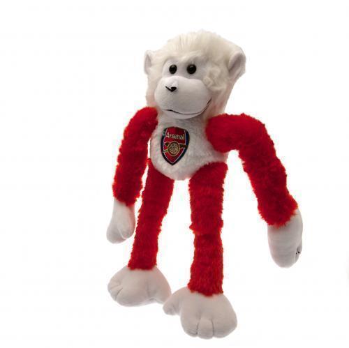 Arsenal Fc Slider Monkey Soft Toy Mascot