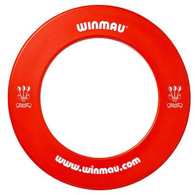 WINMAU 1 PIECE DARTBOARD SURROUND RED