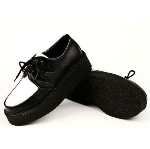 black and white creepers shoes ebay