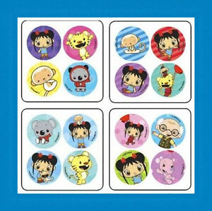 48 Ni Hao Kai-lan Dot Stickers Party Favors
