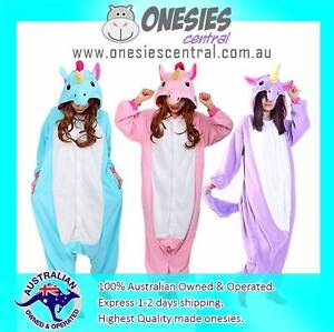 Unicorn Halloween Onesies Royal Blue Pink Pink Unicorn Party Wear Melbourne CBD Melbourne City Preview