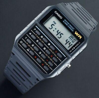 Reloj Nuevo Casio CA-53W-1 Calculadora Hombre Resina Negro Digital