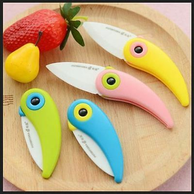 Used, Bird Folding Cute Mini Ceramic Knife . Good for Travelers and Bachelors - 2 pcs for sale  Hyderabad