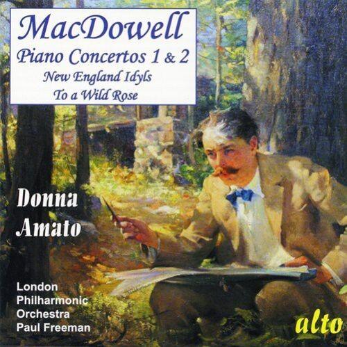 Donna Amato - Piano Concertos 1 & 2 [New CD]