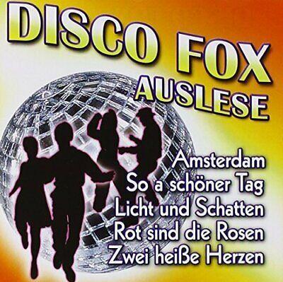 Disco Fox Auslese Alpalertaler, Michael Morgan, Andi & Chris, Uli Bastian.. [CD]