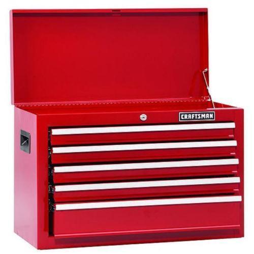 5 drawer tool chest ebay. Black Bedroom Furniture Sets. Home Design Ideas