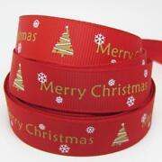Christmas Grosgrain Ribbon