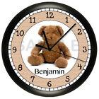 Bears Plastic Wall Clocks