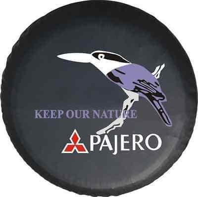 """For Mitsubishi Pajero bird Spare Wheel Tire Cover Fit New Size 30-31"""""""